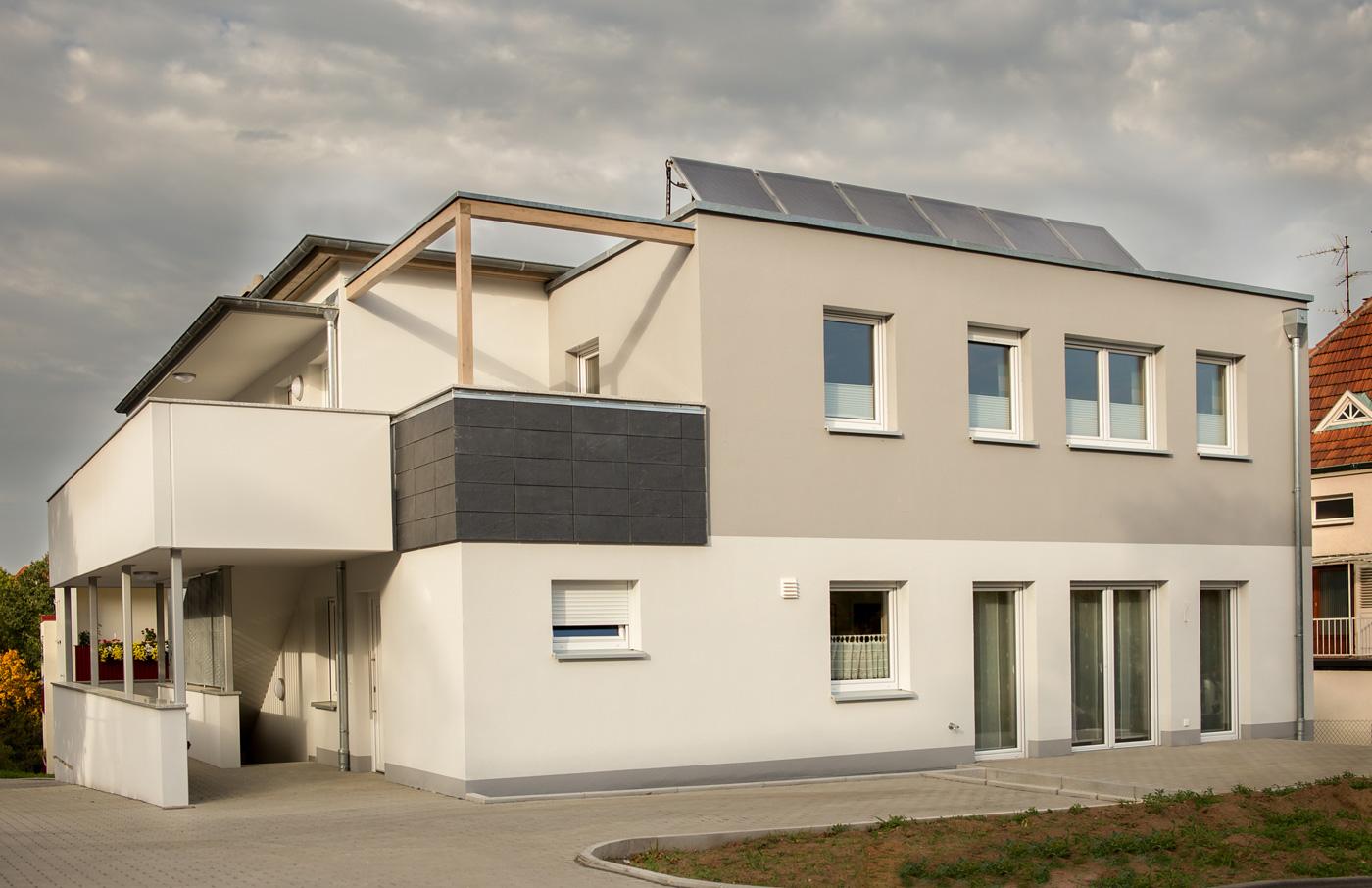 haus hutsrasse architekt philip meyer. Black Bedroom Furniture Sets. Home Design Ideas